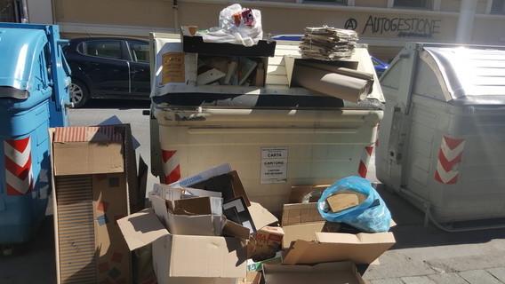 Nuovo centro raccolta rifiuti a Legino, ma nessuno informa i cittadini