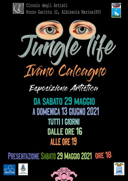 """""""Jungle life"""": il Circolo degli Artisti riparte con Ivano Calcagno"""