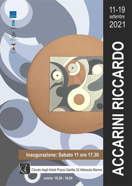 Riccardo Accarini: la mostra