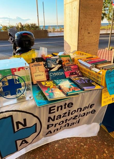 I volontari dell'Enpa ad Albissola Comics