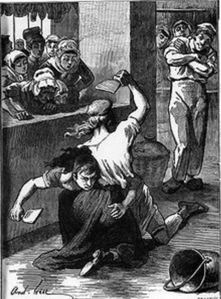 Illustrazione de L'Ammazzatoio (di Emile Zola)
