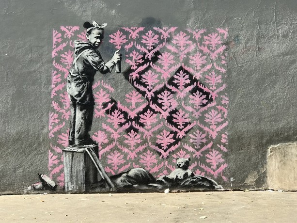 Sorpresa a Castelfranco: Banksy in mostra a Finale Ligure