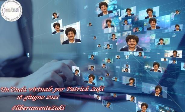 Un'onda virtuale per Patrick Zaki