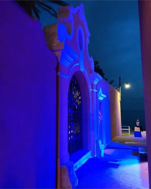 Piazza Libeccio prima di Luce bianca (foto Deborah Riccelli)