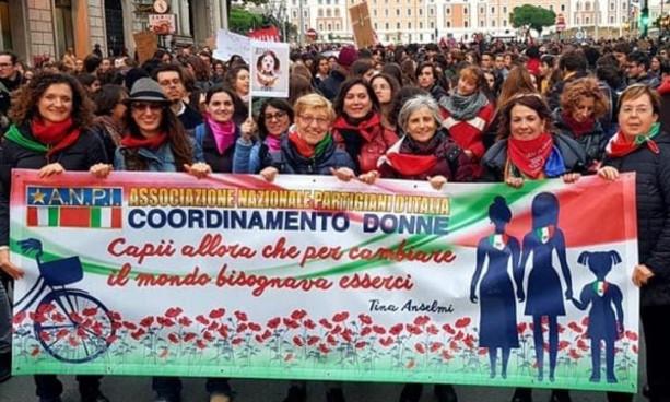 """Il Coordinamento donne ANPI: """"25 novembre sempre"""""""