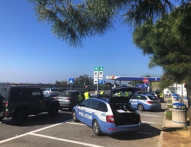 Nuovi deliri: chiude la Polstrada a Finale Ligure e Sanremo