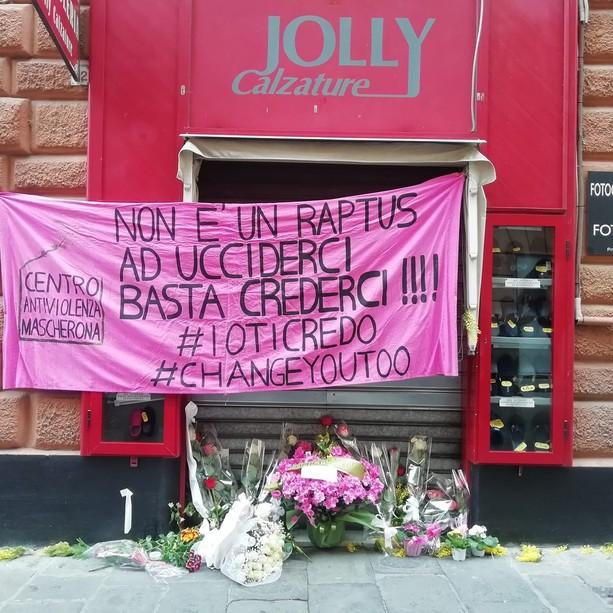 la manifestazione in ricordo di Clara Ceccarelli