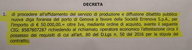 "Sansa: ""altri 61mila euro a Primocanale"""