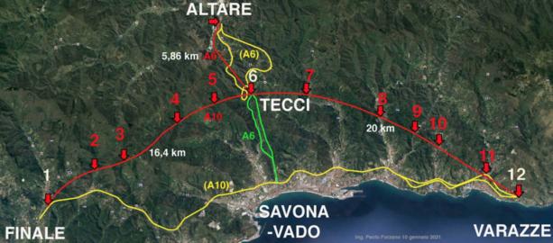 La proposta di Paolo Forzano: una nuova autostrada nel triangolo Finale - Varazze - Altare