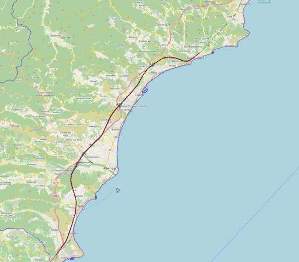 Spostamento a monte della ferrovia Andora - Finale: a cosa serve?