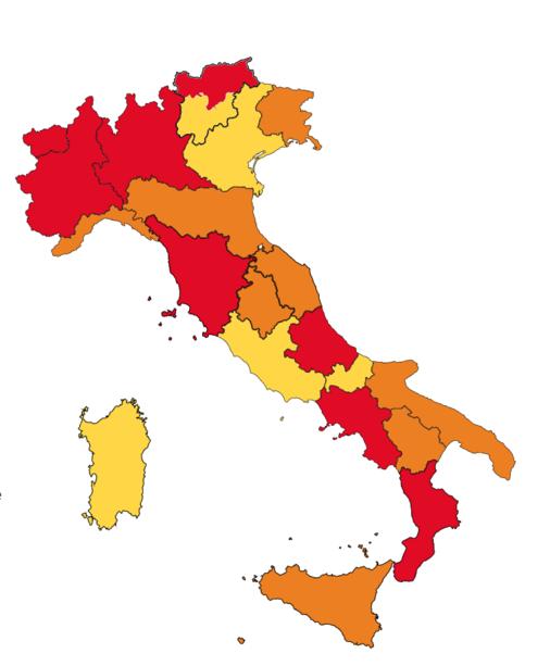 la mappa attuale