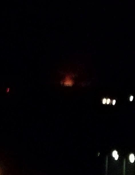 Incendio alla discarica del Boscaccio?