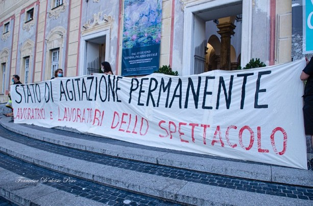 """Emergenza Spettacolo Liguria: """"rischiamo di scomparire"""""""