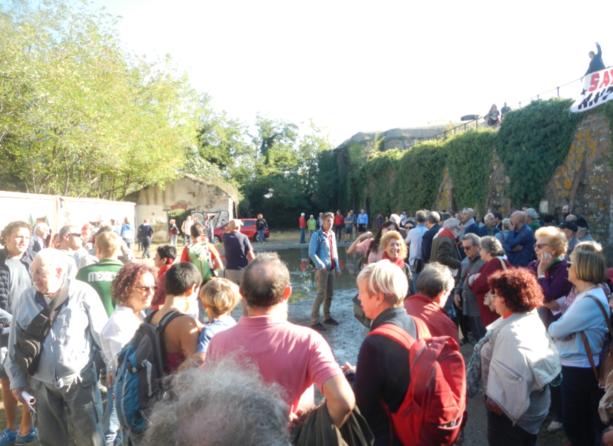 Un'immagine dell'evento di stamattina al Forte di Madonna degli Angeli