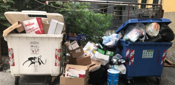 La follia del centro rifiuti a Legino